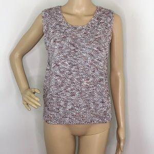 Brochu Walker Knit Sleeveless Blouse